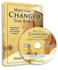 Why They Changed The Bible - audio/ppr