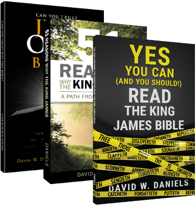 Trusting the KJV - 3 Book Bundle