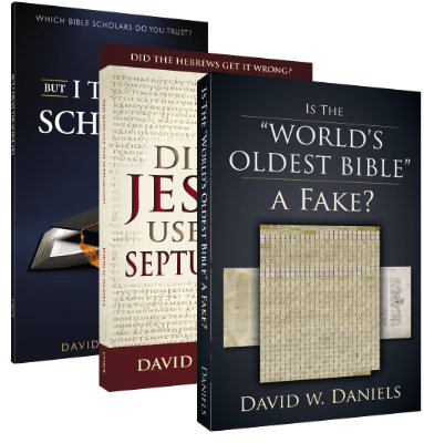 Bible Scholars - 3 Book Bundle