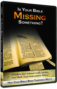 Vol 1 - Is Your Bible Missing Something?
