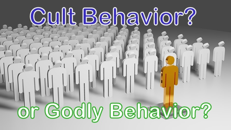 Cult Behavior or Godly Behavior?